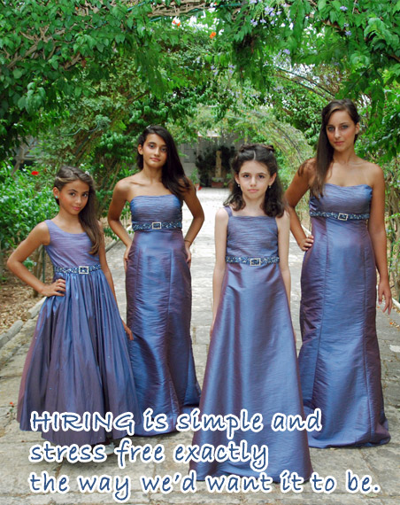 Bridesmaids Hiring